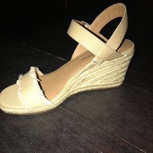 Shoes - Brand new Lucky Brand espadrille wedges size 7